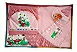 BelleGirl 100% Cotton New Born Gift Set ...