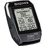 Sigma Sport Fahrrad Computer ROX 7.0 GPS black, Track-Navigation, Grafische Datenauswertung, Strava, Schwarz