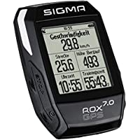 Sigma Sport Fahrrad Computer ROX 7.0 GPS, Track-Navigation, Grafische Datenauswertung, Strava