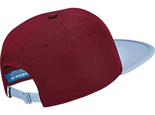 adidas 6P Unstructured strapback rouge bleu
