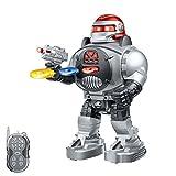 RC ferngesteuerter Kampf Roboter mit LED-Beleuchtung, Modell, Infrarot Fernbedienung, mit vielen Besonderheiten wie Tanz- und Schussfunktion, Neu OVP