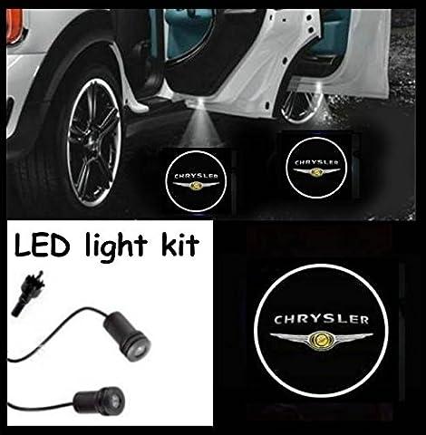 Chrysler Entry (Door) LED CREE R3Light Kit Chrysler Logo (Pair)
