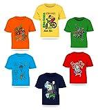 #8: Kiddeo Kids Boys Tshirts(navy)(Pack of 6)