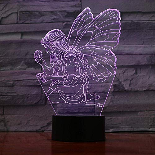 3D Led Lamp Flower Rose Cup Bedside 7 Color Changing Lampara RGB Girl Child Kids Baby Birthday Gifts USB 3D Led Night Light Neon Rosen-cup