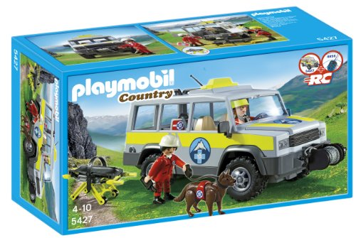 Playmobil Vida Montaña - Vehículo Rescate montaña