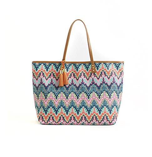 cinda-b-luxe-large-london-tote-calypso-one-size