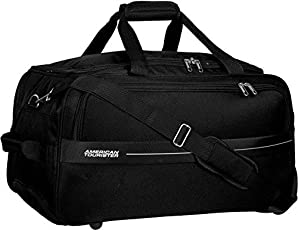 American Tourister Marco Polyester 64 cms Black Travel Duffle (93O (0) 09 002)