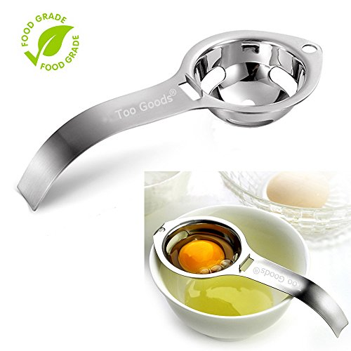 Separador de claras de huevo yema de huevo filtro de color blanco huevo...