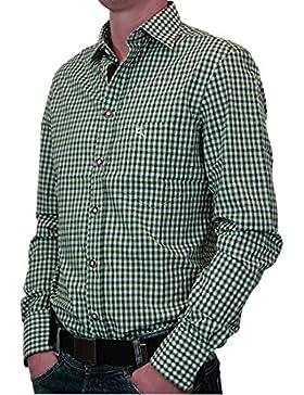 OS Karo Trachtenhemd Konrad auch in großen Größen und verschiedenen Ausführungen