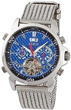 Comprar Aatos AigosSSBL - Reloj de caballero automático, caja y correa de acero inoxidable, esfera de fibra de carbono