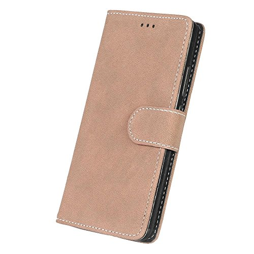 Huawei Honor 5C 7 Lite Gehäuse Solide Farbe Kunstleder Fall mattierte Oberfläche Brieftasche Fall horizontale Flip Stand Case Hülle für Huawei Honor 5C 7 Lite ( Color : 1 , Size : Huawei Honor 5C 7 Li 5