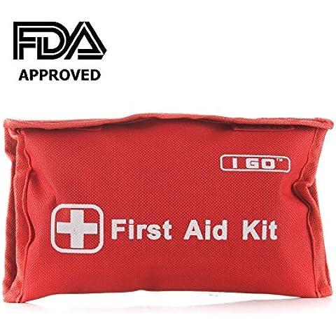 I GO I Go 89 piezas Kit de primeros auxilios, Rojo