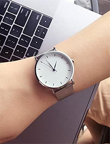 BIAOSHOU® Fashion Super Watch New Ladies Watch All-Match Male Strip Grid Simple Leisure Student Lovers ,