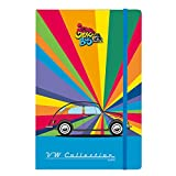 Officially Licensed Volkswagen A5 Notebook – Beetle Rainbow Stripes