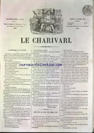 CHARIVARI (LE) [No 266] du 23/09/1851