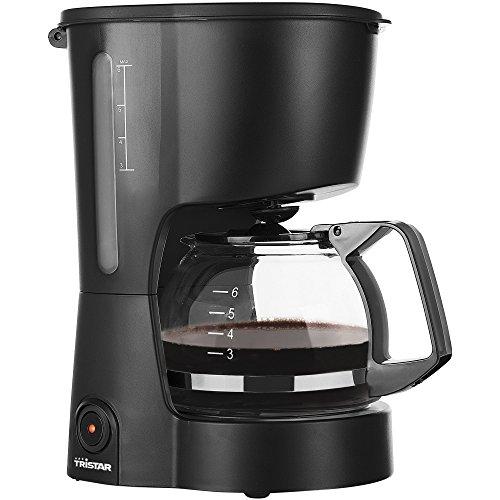 Tristar CM-1246 Kaffee Maschine Macchina caffè, Caraffa Removibile, 600 W, 0.6 Litri, Plastica, Nero