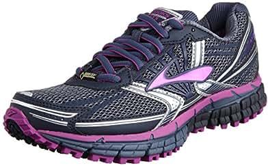 Brooks Adrenaline Asr 11 Gtx W, Women's Running Shoes, Vintage Indigo/Midnight/Purple, 3 UK