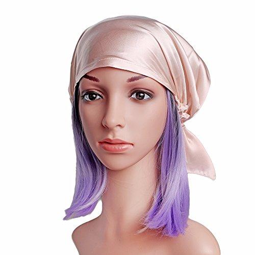 Viktorianischen Ära Hüte (Emmet Sleep Cap Mütze Seide mit Elastikband Soft Breathable(Haut)