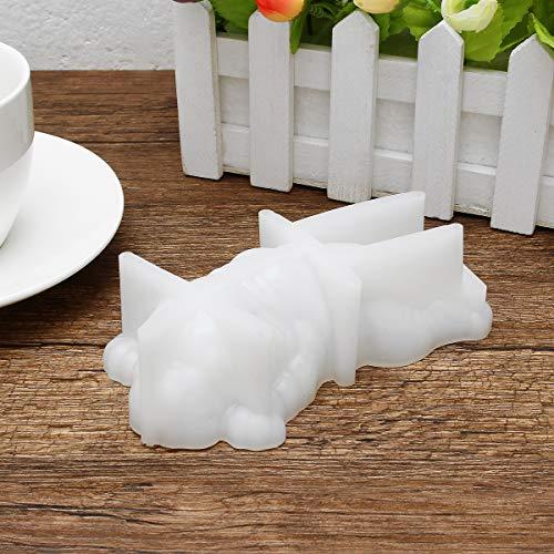 ilikon Hund Form Mousse Kuchen Schokolade Candy Cookie Form Diy Backform Weiß ()
