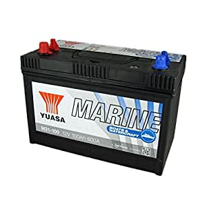 Batterie démarrage yuasa marine 12v 100ah 600a