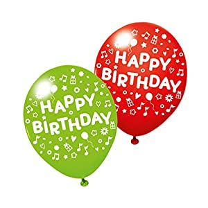 SUSY CARD Globos 40012032 con Texto Happy Birthday, 3 Unidades.