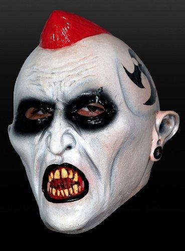 Maske untoter Punk Punker Vampir Zombie Vampirmaske Halloween Karneval