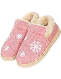 Zapatillas de interior de invierno para mujeres (EU 40'41, Pink Bear)