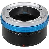 Fotodiox ArriB-FXRF-Pro Adaptateur de Lentille pour Fuji X-Pro1X-E1/X-M1/X-A1/X-E2/X-T1 Noir