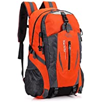 Hiking Backpack Large Lightweight Waterproof 40L Bag for Hiking Camping Running Cycling Trekking Outdoors Sports