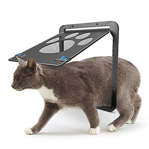 Womdee Puerta mosquitera para Mascotas, Cierre automático, magnético, Resistente, Puerta de Pantalla para Perro y Gato