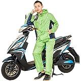 Impermeables lluvia pantalones traje hombres y mujeres Split impermeable solo montar motorizado impermeable coche eléctrico ( Tamaño : XL )