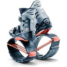 KangooJumps XR 3adultos zapatos de rebote, negro/naranja, 9 - 10