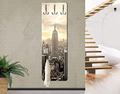 Apalis 75139–Perchero de pared Manhattan Dawn, 139x 46cm