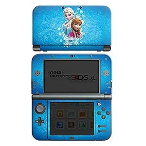 DeinDesign Nintendo New 3DS XL Case Skin Sticker aus Vinyl-Folie Aufkleber Disney Frozen Fanartikel Geschenke