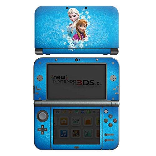 DeinDesign Skin kompatibel mit Nintendo New 3DS XL Aufkleber Sticker Folie Disney Frozen Fanartikel Geschenke