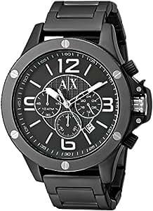 Armani Exchange End-of-Season Wellworn Analog Black Dial Men's Watch - AX1503