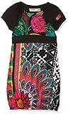 Desigual Vest_Niamey, Robe Fille, Noir (Negro 2000), 11/12 Ans (Taille Fabricant : 152 cm)