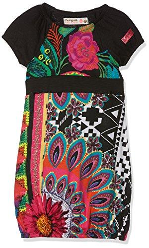 Desigual Mädchen Kleid Vest_Niamey, Schwarz (Negro 2000), 152 (Herstellergröße: 11/12)