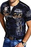 MT Styles 2in1 T-Shirt P-CAROY R-2878 [Schwarz, 3XL]