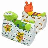 Il pacchetto include:1 * cuscino per neonatiMateriale:Cuscini traspiranti (esterni) + cotone (interno).La struttura interna traspirante e il rivestimento in tessuto innovativo contribuiscono a ridurre il surriscaldamento. Non tossico, pelle-f...