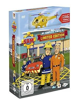 Feuerwehrmann Sam – Die komplette Staffel 9 (5 DVDs) (+ Wallaby II (Toy)) (Limitierte Edition)