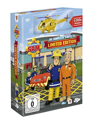 feuerwehrmann sam die komplette staffel Feuerwehrmann Sam - Die komplette Staffel 9 (Limited Edition, 5 Discs)