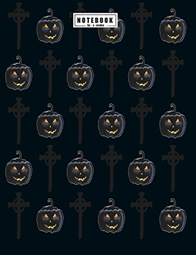 Notebook: Halloween collection cover and Dot Graph Line Sketch pages, Extra large (8.5 x 11) inches, 110 pages, White paper, Sketch, Draw and Paint (Halloween collection notebook) (Cat-body Halloween Paint)