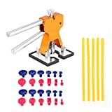 Auto-Dent-Reparatur-Abzieher, 24 Saugflaschen-Kleber-Abbaum-Werkzeug-Installationssatz für Hagel-Schaden-Tür Dings kleine Kollisions-Dellen