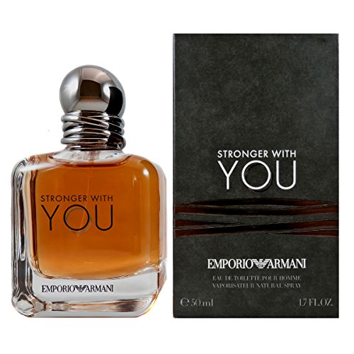 emporio armani you Emporio Armani Stronger With You Homme Eau de Toilette Spray – 50 ml