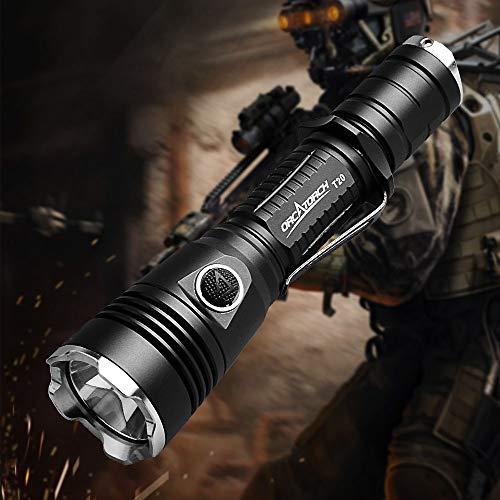 Linterna táctica policial militar impermeable ORCATORCH T20