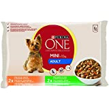Purina ONE My Dog is… Perro Mini Adulto Pollo y Cordero en Salsa 10 paquetes de 4 x 100 gr
