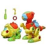 YIXIN Set of 2 Dinosaur Assembly Disa...