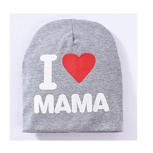 Interesting® Gorritas tejidas del niño infantil niños gorras Color caramelo precioso bebé sombreros de primavera otoño invierno marca algodón bebé niño