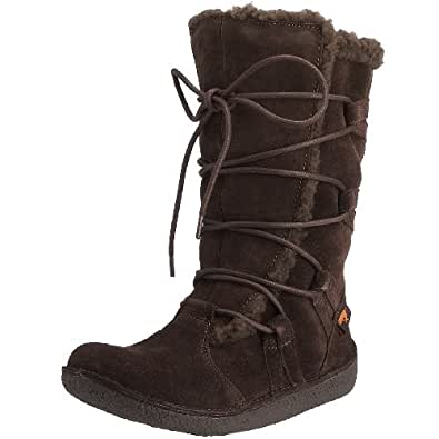 Rocket Dog Hazel Cow Suede Calf High Winter Boot - Black, Chestnut, Tribal Brown UK4 - EU37 - US6 - AU5 Tribal Brown